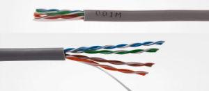 Высокая скорость 305m мотовило CAT6A разъема RJ45 SSTP кабель локальной сети Ethernet