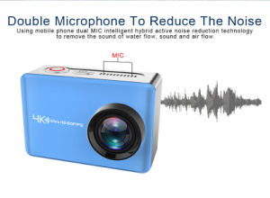 Bwc nativo-V7 4K/60fps WiFi cámara de acción Ultra HD cámara resistente al agua 30m con mando a distancia