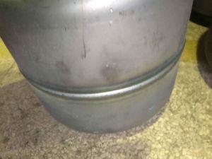 LPG 실린더 두 배 팔 완곡한 솔기 용접 기계