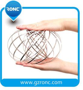 승진 선물 지능적인 반지 짜개진 조각 반지를 가진 마술 교류 반지