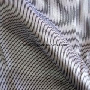Polyester-Satin-Gewebe mit Streifen-Druck für Kleid-Futter