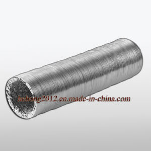 Flexible de aluminio para conductos de aire (HVAC hh-hh-B).