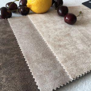 L'argent brillant de fils de polyester Tissu de la Sellerie auto