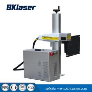 Macchina della marcatura del laser della fibra del piano d'appoggio per il braccialetto dell'anello