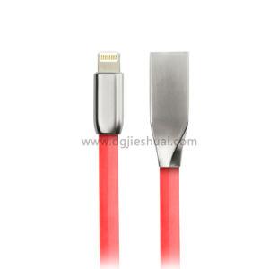 Cavo veloce di iPhone della spina in lega di zinco di Mfi compatibile con il iPod e più del iPad di iPhone 8/8plus 7/7p/6s/6s Plus6/6p 5s/5
