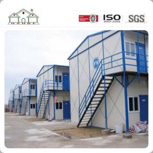 Camera prefabbricata dell'accampamento della costruzione provvisoria di due piani di architettura per i progetti