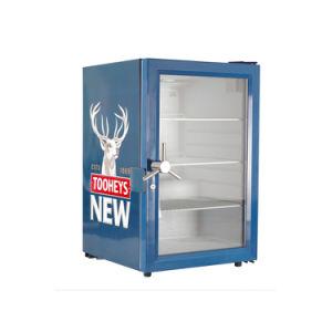 mini dispositivo di raffreddamento della bevanda della contro parte superiore 68L per la vetrina fredda del frigorifero del vino con il portello di vetro