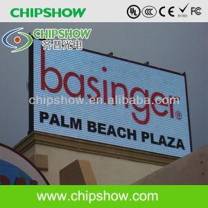 Chipshow P10 Outdoor plein écran LED de couleur pour la publicité