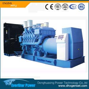 1100KW Groupe électrogène Diesel Powered by MTU pour la vente du moteur