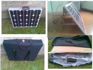 Portátil de 120 vatios Panel Solar de Mono (SNM-F120) Módulo solar