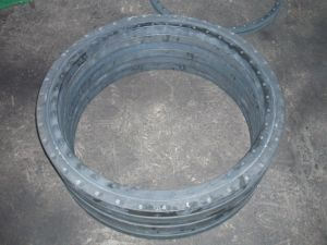 Los anillos de rotación con el tratamiento de superficie por Phosphating (010.20.844.03)
