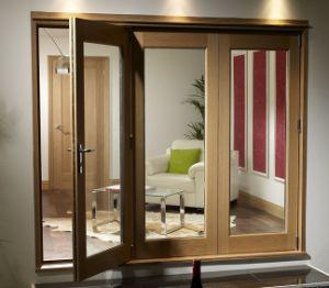 De estilo europeo de aluminio de madera maciza puerta - Puertas para terrazas ...
