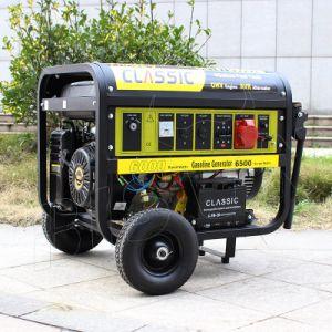 비손 ((h) 중국) BS7500j 빠른 납품 경험있는 공급자 장기간 시간 사각 프레임 가솔린 발전기 힘
