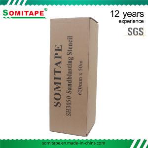 Somitape SH9023 PVC adhesivo de grado industrial chorreo de arena para la protección de la película