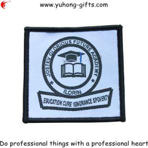 Distintivo ricamato banco quadrato per l'uniforme (YH-WB106)