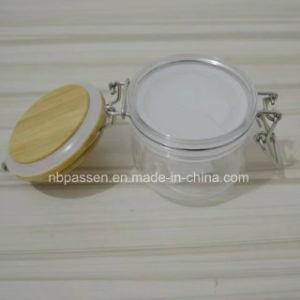 タケふた(PPC-BS-058)が付いているプラスチックマスクの容器ペット装飾的なびん