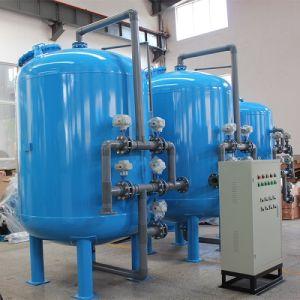 Lavado automático de la filtración de arena de cuarzo de multimedia para el tratamiento de agua