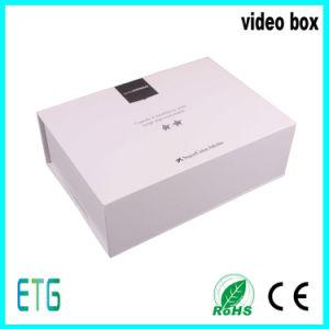 7 Brochure van de Kaarten van de Luxe van het Scherm van de duim TFT LCD het de Digitale Video en Vakje van de Gift