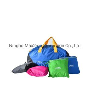 2019 Nuevo de alta calidad de color azul al aire libre bolsa plegable Viajes Duffel