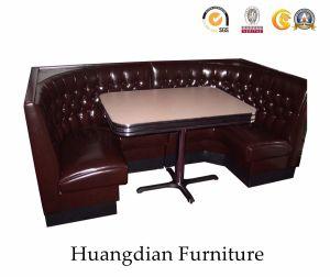 Restaurante La Esquina de madera hecho personalizado asientos de cabina (HD131)