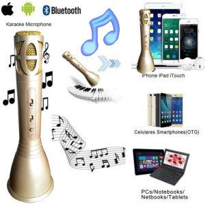 2017 nouveau haut-parleur Bluetooth portable microphone Karaoke Player