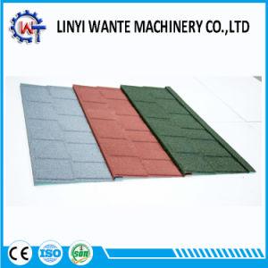Les matériaux de toiture en métal recouvert de feuille de zinc Stone tuile de toit de bardeaux