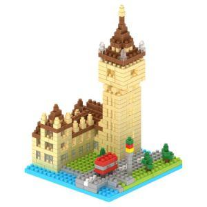 14889401-Micro Kit de bloc Les blocs de la série de bâtiments Set jouet éducatif créatif DIY 510pcs - Big Ben