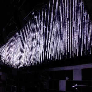 Etapa de LED LED DMX ILUMINACIÓN Luz del tubo de 3D