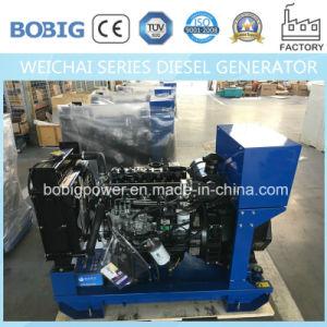 Weichai Engine이 강화하는 15kw-50kw 침묵하는 디젤 엔진 발전기