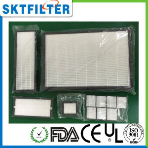 HEPA Filter mit hoher Leistungsfähigkeit für Luft-Reinigungsapparat
