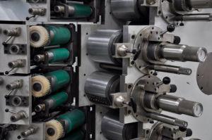 Modelo dinámico automático de la Copa desechables máquina de impresión offset.