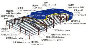 Estructuras del marco de acero