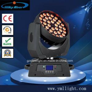RGBW LCDの表示36PCS 10W LEDの洗浄移動ヘッド