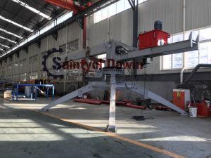 絵画の準備ができたHgy17mのトレーラーの移動式具体的な置くブーム
