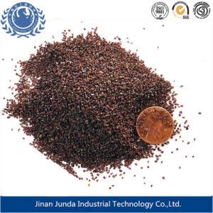 물 처리를 위한 급수 여과기 매체 또는 모래 분사 거친 Almandine 석류석 모래 20/40 메시