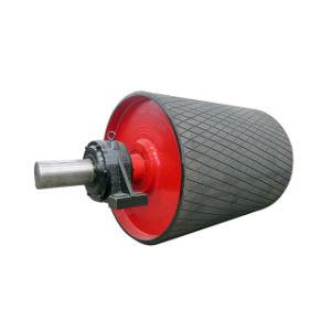 Ленточный транспортер плоского ремня приводного шкива