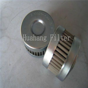 Hydraulische de filterpatroon van de zuigingsolie voor het Filtreren van grote vaste lichamen (2.10G25-A00-0-p)