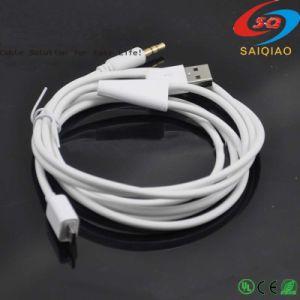 Напряжение питания на заводе автомобиль Micro-USB к разъему Aux аудиокабель 3,5 мм