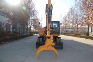 Excavadora de ruedas China Hengte HT125W