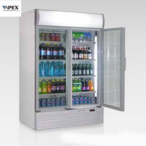 doppio congelatore della visualizzazione della porta a battenti 1200L