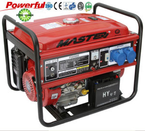HomeおよびCommercial Gasoline Generator/15HP単一PhaseのGasoline Generator Set/100%Copper単一CylinderのGasoline Engine Generatorのための6000W Portable
