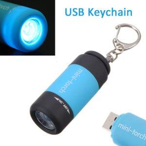 Trousseau Étanche Lampe Mini –mini Led Rechargeable Usb Torche rBWoeQdExC