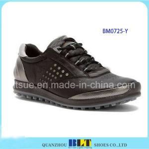 Sapato de golfe de couro de inverno para homens