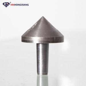 Ningunos dígitos binarios de taladro de diamante que saltaran del avellanador de cristal