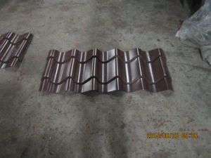 Dernière technologie de rouleau de métal galvanisé panneau de toiture tuile prix d'usine machine de formage de feuilles avec la norme ISO9001/ce/SGS/Soncap