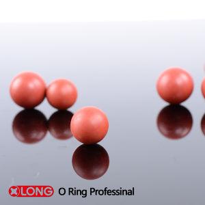 De Donkerrode Stevige RubberBal NBR van hoge Prestaties