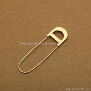 Form-Metallbrosche-Faltenbildungsicherheit Schal-Reverspin-Wolljacke-Dekoration