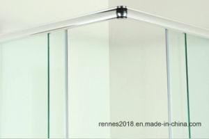 De duidelijke Aangemaakte Zaal van de Bijlage van de Douche van het Glas met de Certificatie van Ce