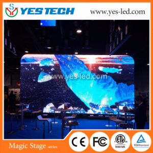 Haute luminosité affichage LED de plein air P4 pour l'étape Disco