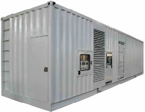 2058kVA Containerized Silent Diesel Generator mit Perkins Engine